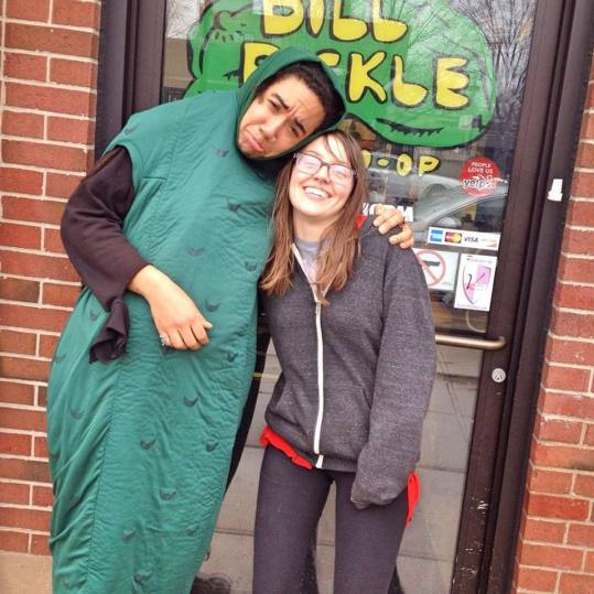 My last day working at the Dill Pickle =(